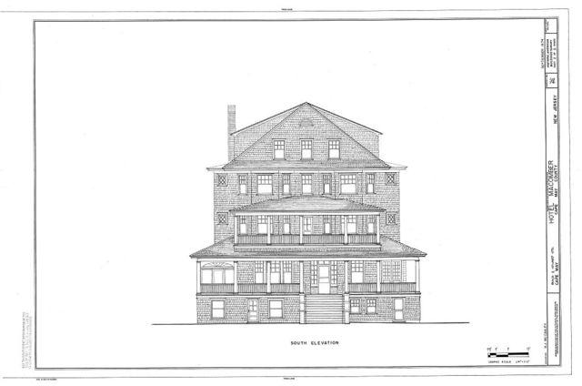 Macomber Hotel, Beach & Howard Streets, Cape May, Cape May County, NJ