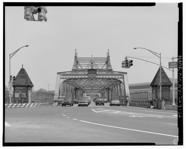 Macombs Dam Bridge, Spanning Harlem River Between 155th Street Viaduct, Jerome Avenue, & East 162nd Street, Bronx, Bronx County, NY