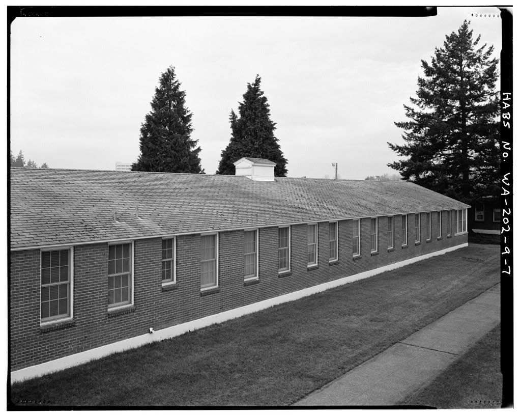 Madigan Hospital, Standard & Combination Wards, Bounded by Wilson & McKinley Avenues & Garfield & Lincoln Streets, Tacoma, Pierce County, WA