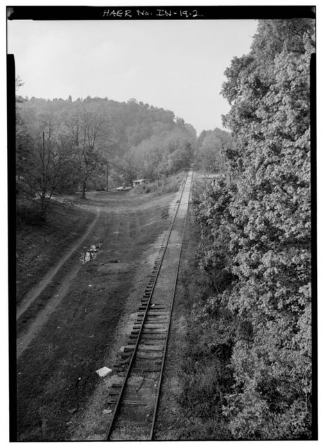 Madison & Indianapolis Railroad, Madison Incline, West Main Street, Madison, Jefferson County, IN