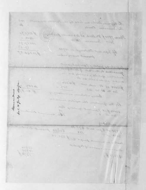 Madison Trustees. Memorandum regarding stocks and bonds. List sent to Judge Mason.