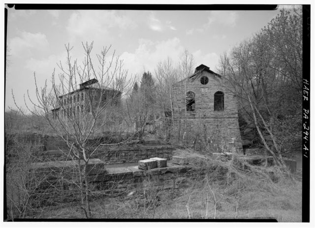 Magee Mine, Hoist House, Northern border of Sewickley Creek & Pennsylvania Railroad, Yukon, Westmoreland County, PA