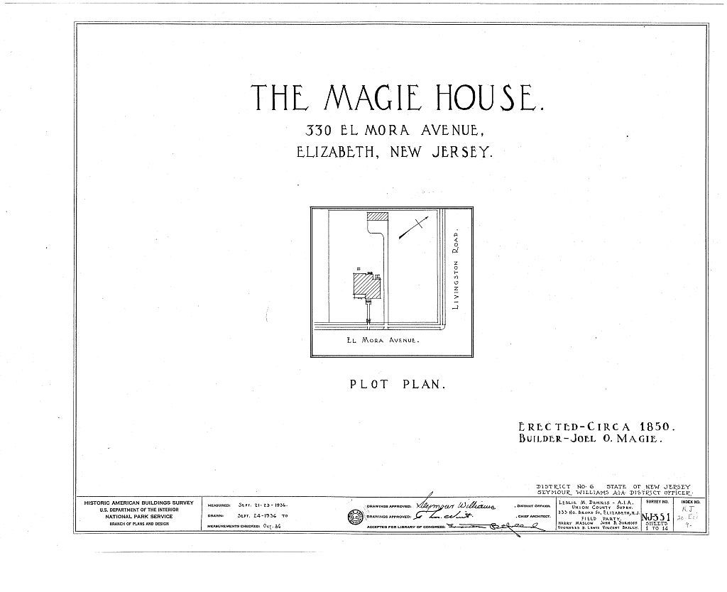 Magie House, 330 Elmora Avenue, Elizabeth, Union County, NJ