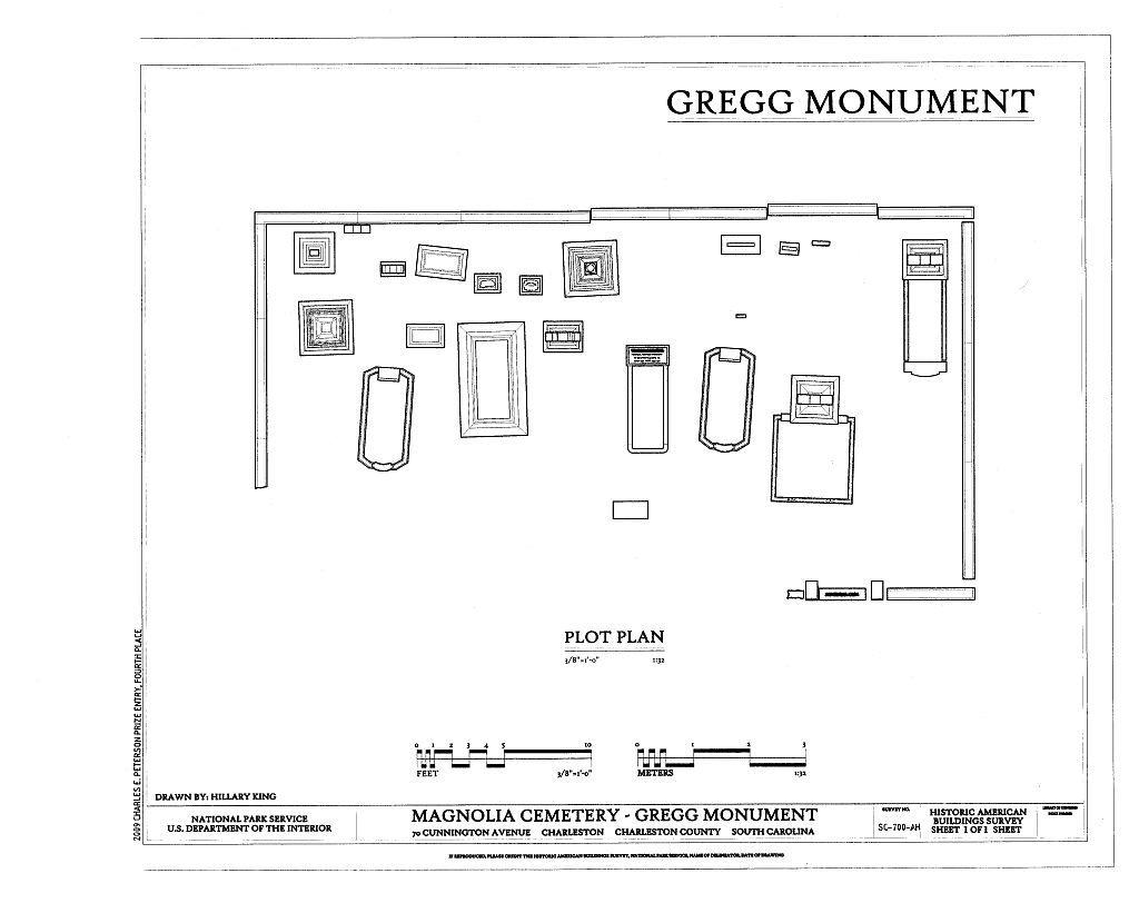 Magnolia Cemetery, Gregg Monument, 70 Cunnington Avenue, Charleston, Charleston County, SC