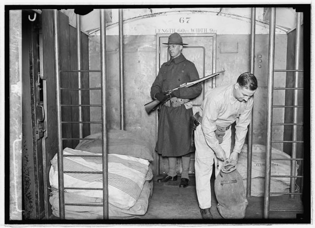 Mails guarded by Marines, 11/15/21