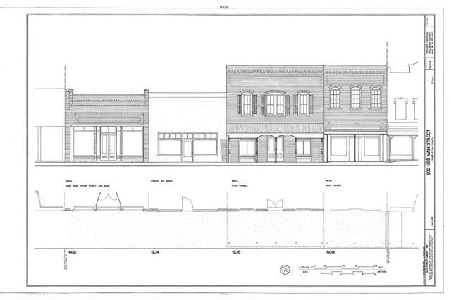 Main Street, 400-700 Blocks (Commercial Buildings), Calvert, Robertson County, TX