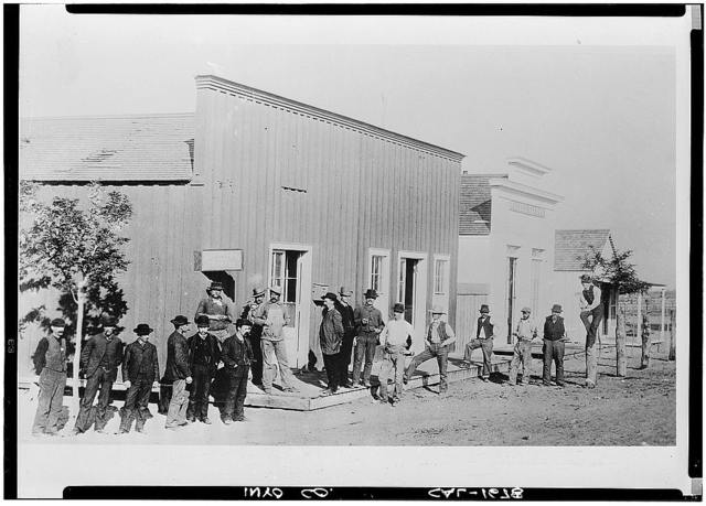 Main Street (Commercial Buildings), Keeler, Inyo County, CA