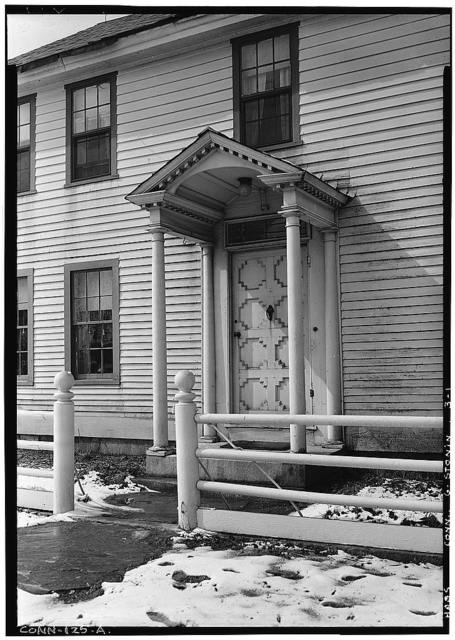 Main Street (House, Front entrance), North Stonington, New London County, CT