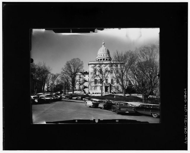 Maine State House, State & Capitol Streets, Augusta, Kennebec County, ME