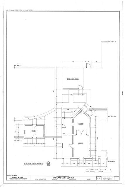 Maitland Art Center, 231 West Packwood Avenue, Maitland, Orange County, FL