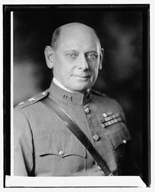 Maj. Gen. Grote Hutcheson, 9/24/25