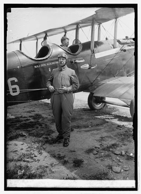Maj. Gen. M.M. Patrick, Bowling Field [i.e., Bolling Field, Washington, D.C], 8/28/24
