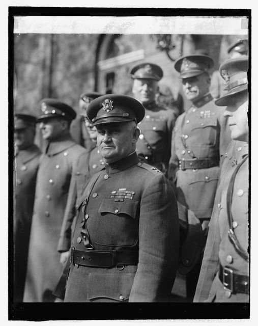 Maj. Gen. Robert L. Howze, Pres. of Court, 10/28/25