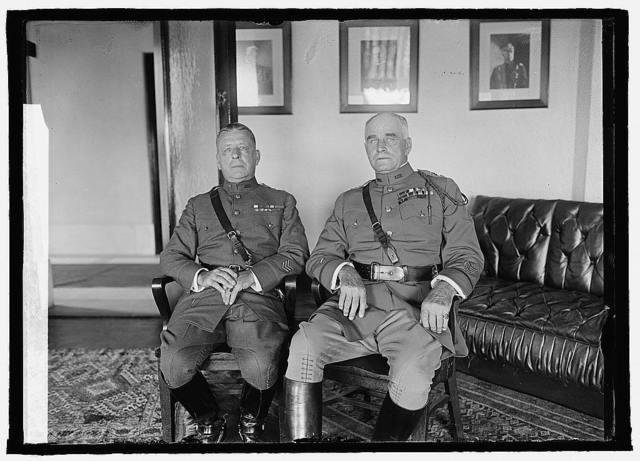 Maj. Gen'l Edw. F. McGlachlin, Maj. Gen'l Hanson E. Ely, 6/28/23