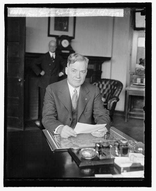Maj. Genl. Wm. Graham Everson, 10/25/29