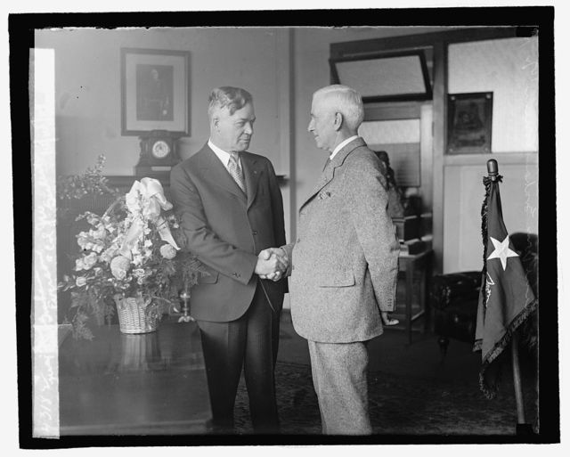 Maj. Genl. Wm. Graham Everson & Col. J.W. Gulick, 10/25/29