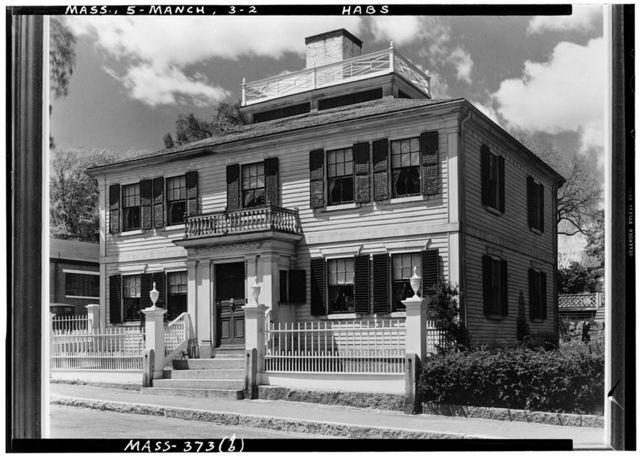 Major Israel Forster House, State Route 127, Manchester, Essex County, MA