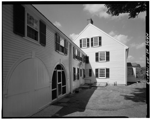 Major John Buttrick House, Liberty Street, Concord, Middlesex County, MA