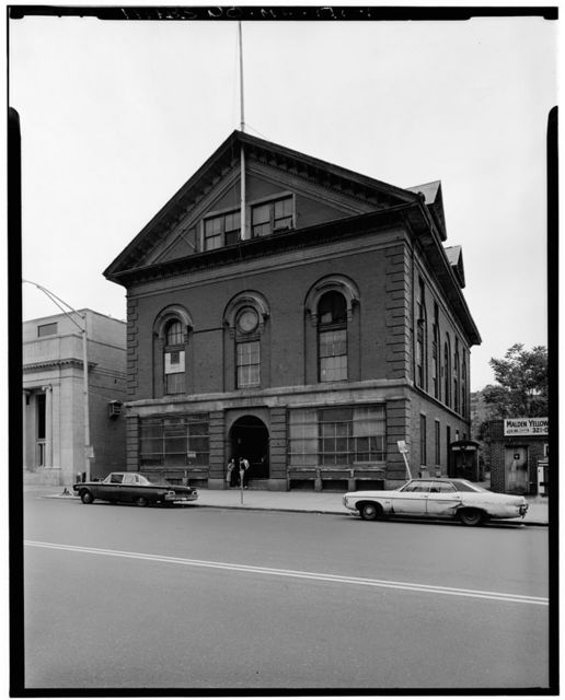 Malden Town Hall, Main & Pleasant Streets, Malden, Middlesex County, MA