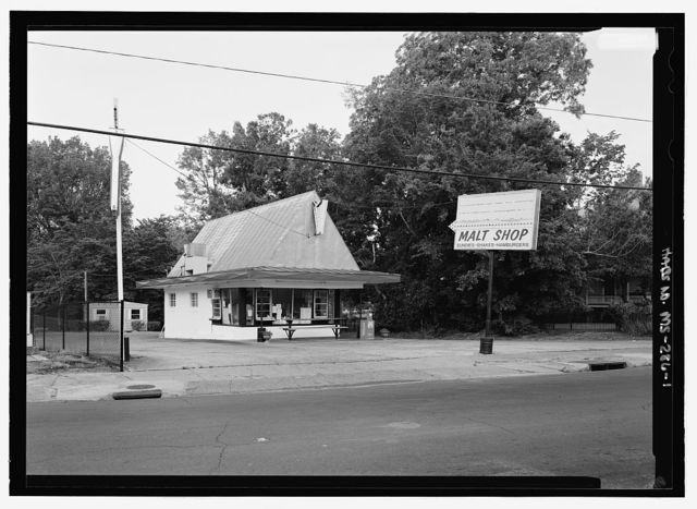 Malt Shop, Intersection of Martin Luther King & Orleans/Homochitto Street, Natchez, Adams County, MS