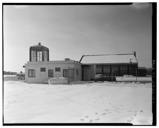 Manchester Airport, Administration-Terminal Building, East of Pine Island Pond, south of North Perimeter Road, Manchester, Hillsborough County, NH