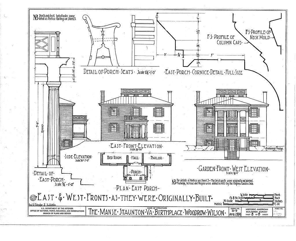 Manse, Frederick & Coalter Streets, Staunton, Staunton, VA