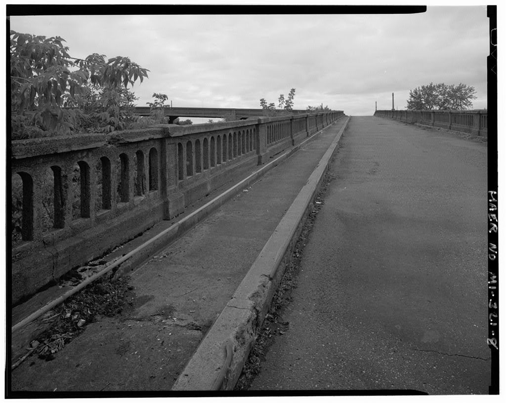 Mansfield Street Viaduct, Spanning railroad right-of-way R47W, T47N, Section 24, Ironwood, Gogebic County, MI