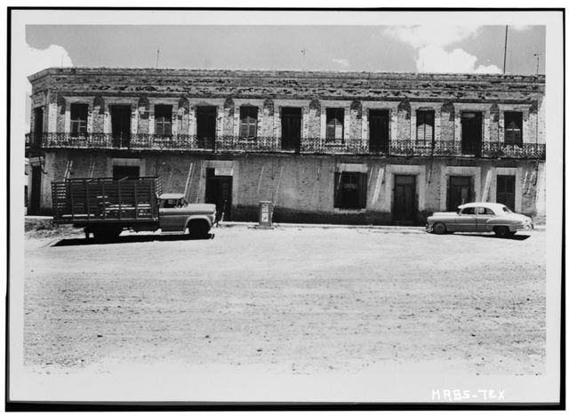 Manuel Guerra Residence & Store, West side of Main Plaza at Hidalgo Street, Roma Creek, Starr County, TX