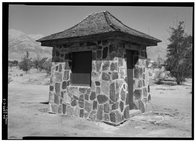 Manzanar War Relocation Center, Internal Police Post, Independence, Inyo County, CA
