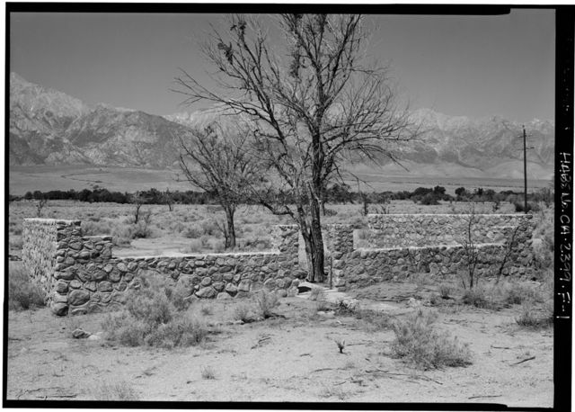 Manzanar War Relocation Center, Rock House, Independence, Inyo County, CA