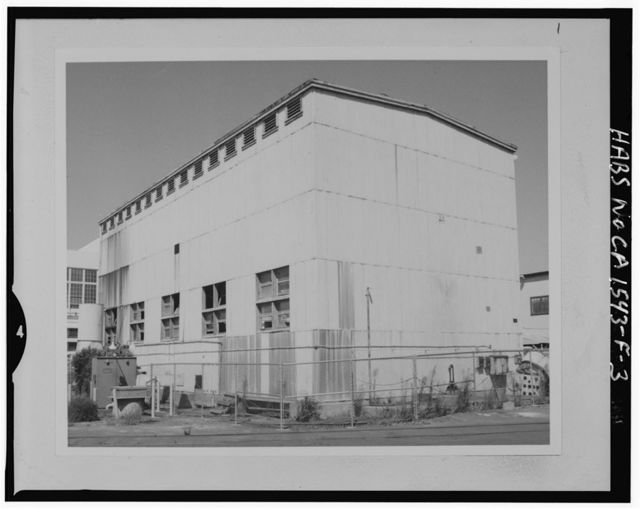 Mare Island Naval Shipyard, Chemical Cleaning Facility, North of Fourteenth Street, between California & Railroad Avenue, Vallejo, Solano County, CA