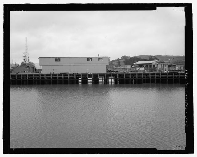 Mare Island Naval Shipyard, Finger Piers 22 & 23, Railroad Avenue near Eighteenth Street, Vallejo, Solano County, CA