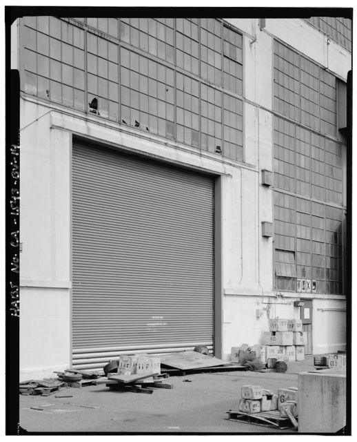 Mare Island Naval Shipyard, Forge Shop, Railroad Avenue, southwest corner of Railroad Avenue & Twelfth Street, Vallejo, Solano County, CA