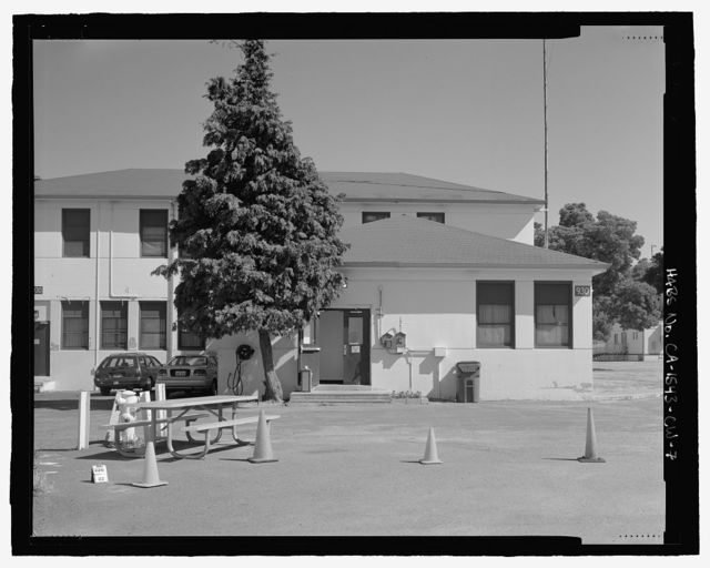 Mare Island Naval Shipyard, Guard House & Barracks, Railroad Avenue near Eighteenth Street, Vallejo, Solano County, CA