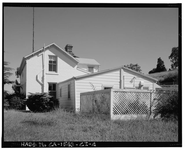 Mare Island Naval Shipyard, Gunner's House, Maseda Road, west side near intersection of Imhoff Road, Vallejo, Solano County, CA
