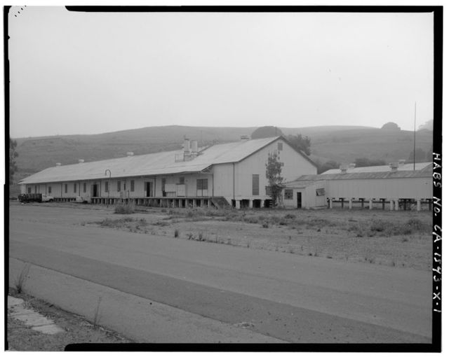 Mare Island Naval Shipyard, Magazine, East of Railroad Avenue, between Garnder & Carino Streets, Vallejo, Solano County, CA