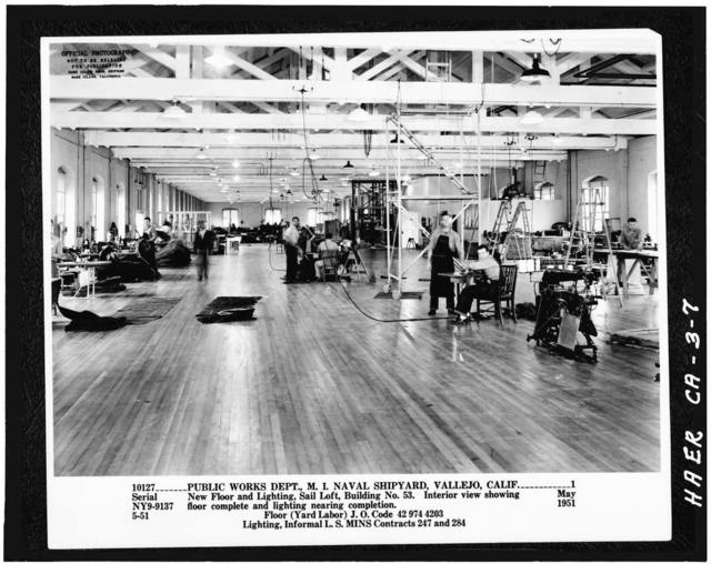 Mare Island Naval Shipyard, Pattern Shop, Near State Highway 37, Vallejo, Solano County, CA