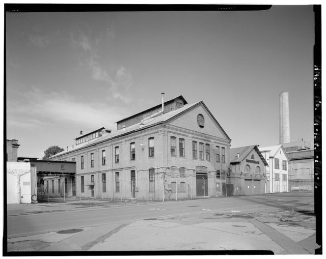 Mare Island Naval Shipyard, Printing Plant, California Avenue, northwest corner of California Avenue & Eighth Street, Vallejo, Solano County, CA