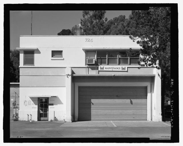 Mare Island Naval Shipyard, South Fire Station, Railroad Avenue near Eighteenth Street, Vallejo, Solano County, CA