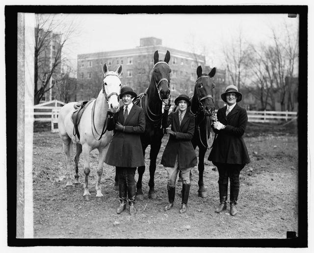 Margaret McLaren, Elaine Hirschman, Virginia Von Brect, 2/19/27