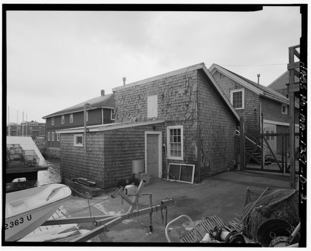 Marine Biological Laboratory, Shipping & Scuba Building, 101 Water Street, Falmouth, Barnstable County, MA