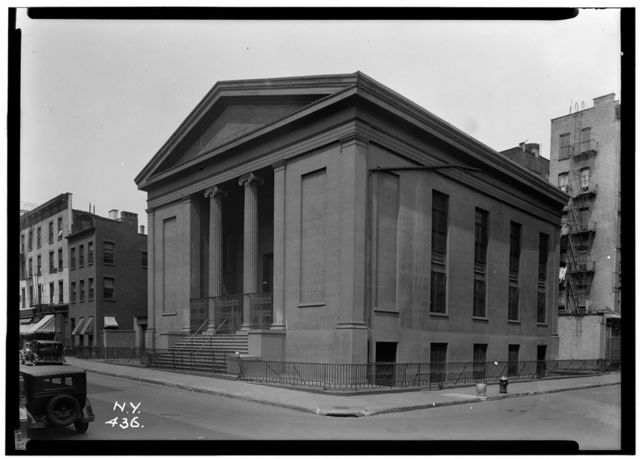 Mariners' Temple, Oliver & Henry Streets, New York, New York County, NY