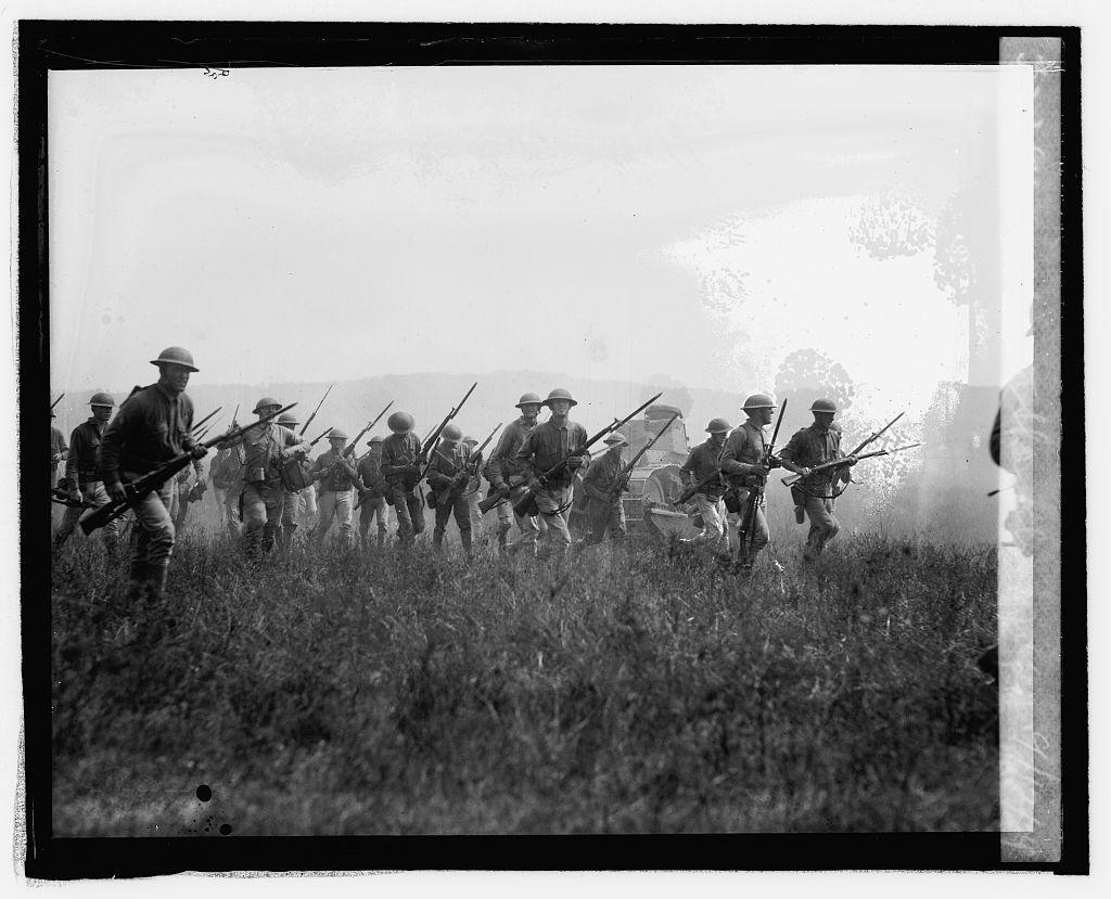 Marines at Sharpsburg, Md., 9/12/24