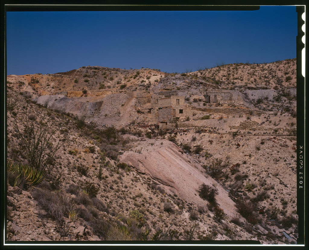 Mariscal Quicksilver Mine & Reduction Works, Terlingua, Brewster County, TX