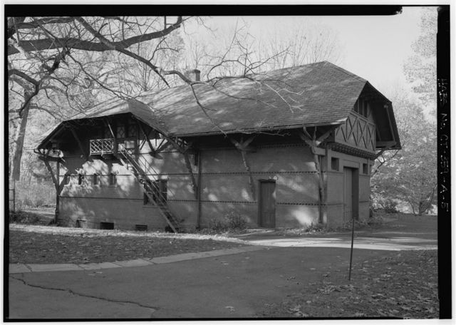 Mark Twain House, Carriage House, 351 Farmington Avenue, Hartford, Hartford County, CT