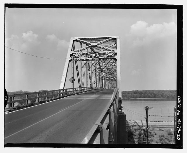 Mark Twain Memorial Bridge, Spanning Mississippi River at US Route 36, Hannibal, Marion County, MO