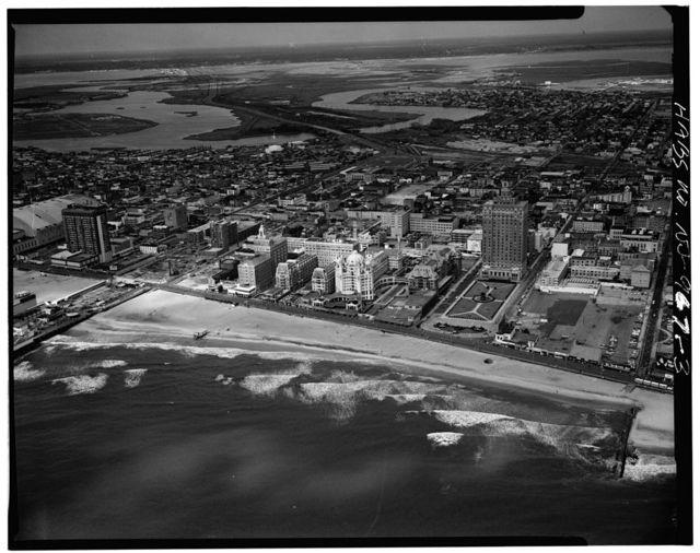 Marlborough, Blenheim & Dennis Hotels (aerial views), Between Park Place, Michigan Avenue & Boardwalk, Atlantic City, Atlantic County, NJ
