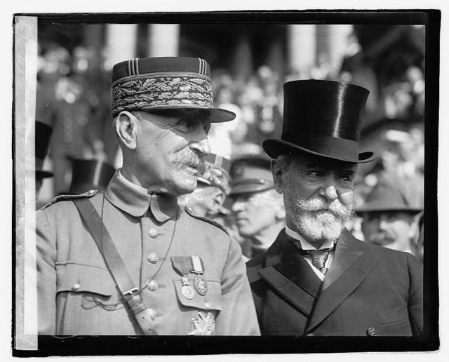 Marshal Foch & Amb. Jusserand, 10/29/21