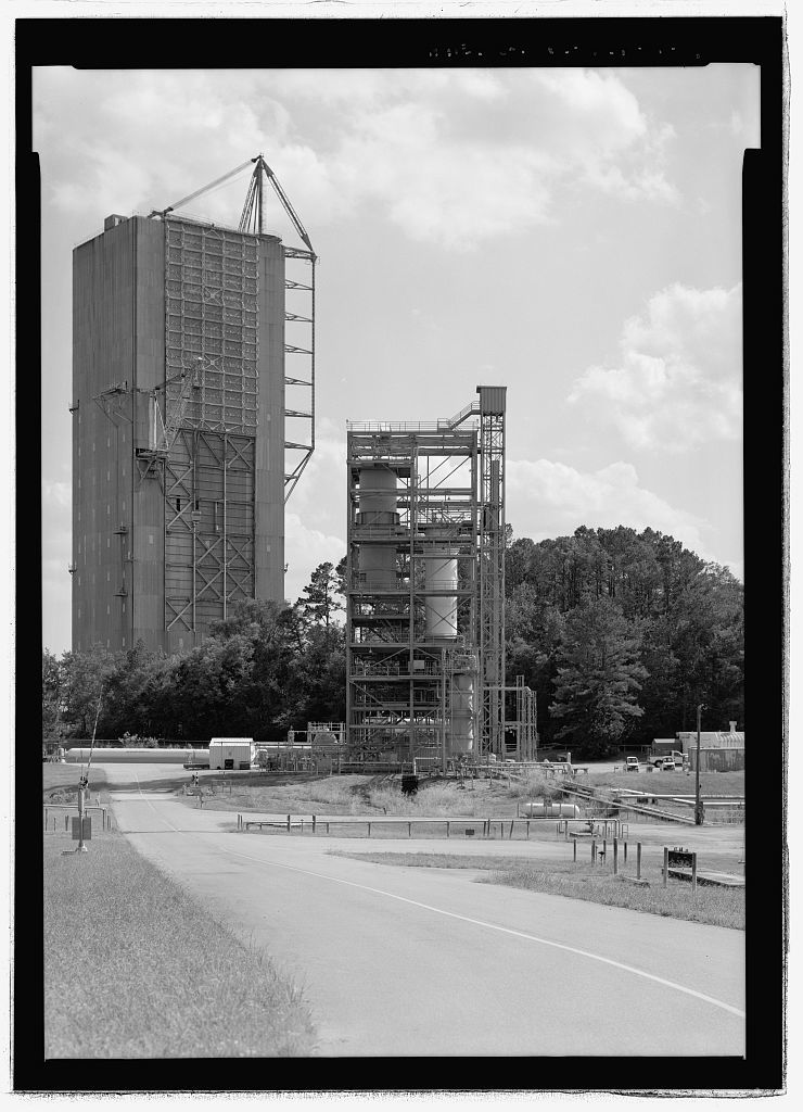 Marshall Space Flight Center, Saturn V Dynamic Test Facility, East Test Area, Huntsville, Madison County, AL