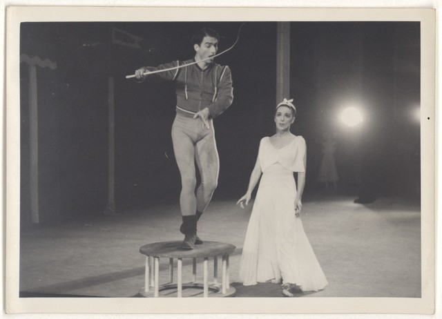 [ Martha Graham and Erick Hawkins in Every soul is a circus]